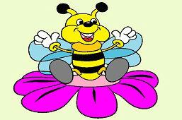 Весёлая пчёла