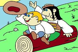 Два пастуха, Кубко и Матько