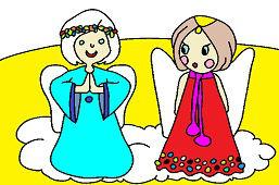 Ангелы на небесах