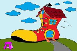Дом-ботинок
