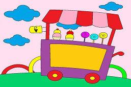 Тележка для мороженого