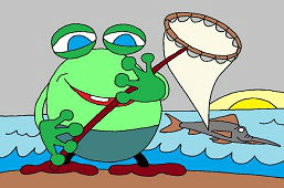 Рыбак-лягушка