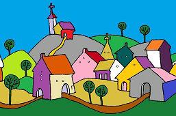 Небольшая деревня