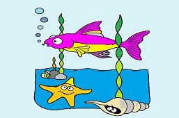 Рыба в глубоком море