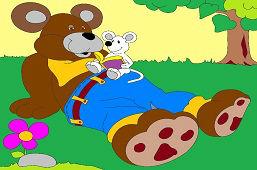 Медведь и мышь