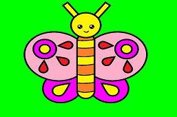 Вырежи бабочку