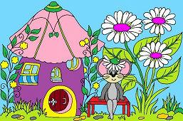 Мышь и Цветочный Дом