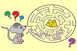 Мышь и кусок сыра