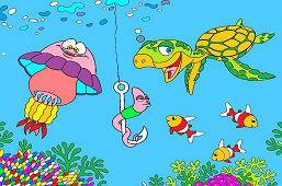 Червь и друзья с моря