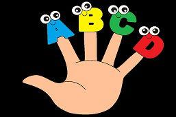 Алфавит на пальцах