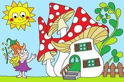 Фея и её дом