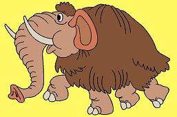 Доисторический мамонт