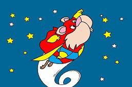 Супергерой хомяк