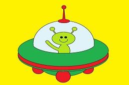 Зеленый инопланетянин