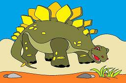 Дино Стегозавр
