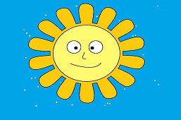 Приятное солнце