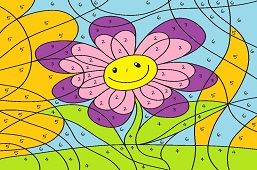 Улыбающийся цветок